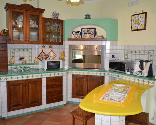 5 tipologie di cucine in muratura | Finmaster Porte Massello