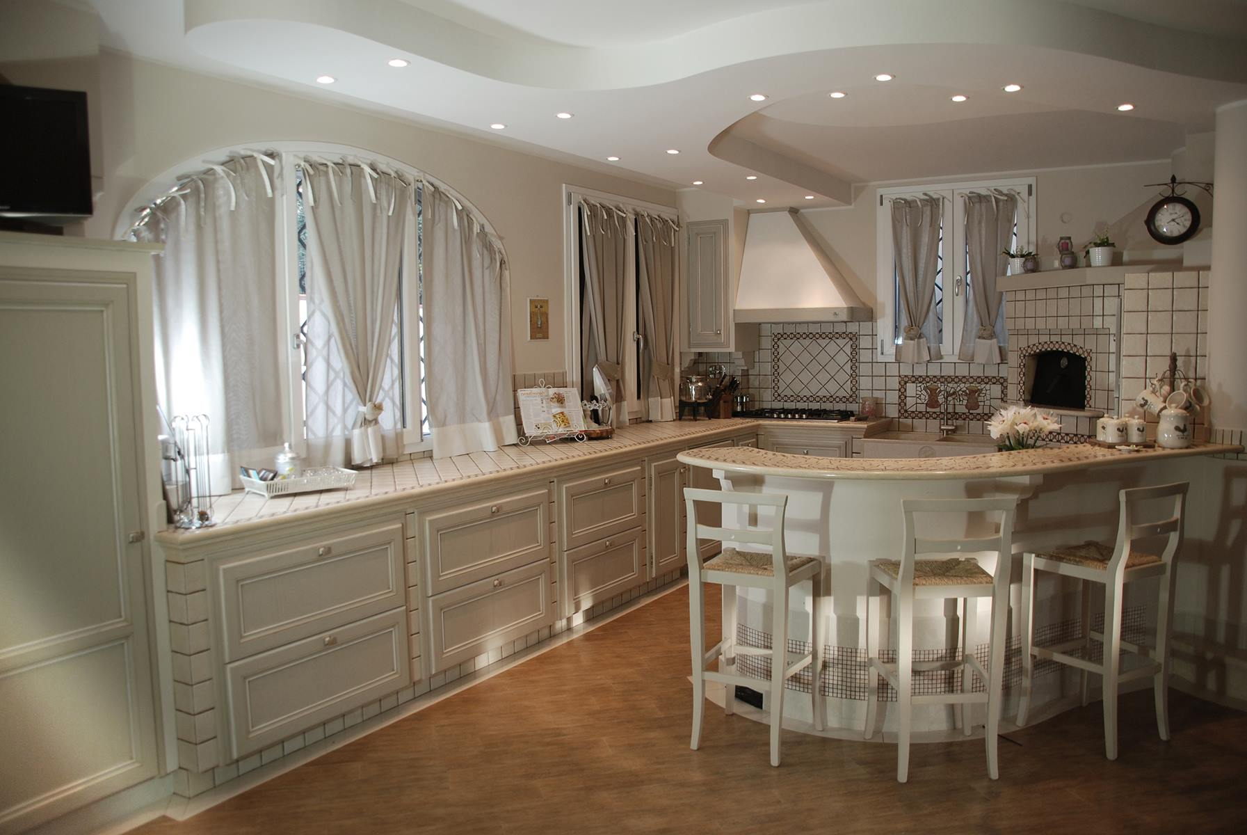 Awesome cucine in muratura shabby chic ideas ideas - Cucine in muratura ...