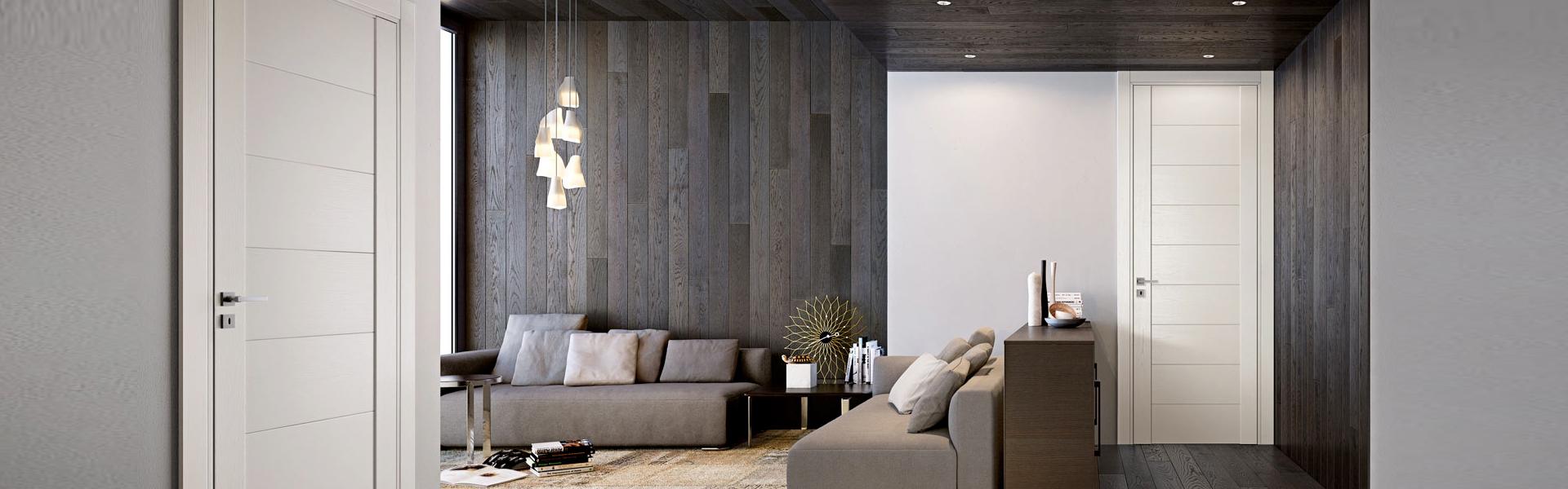Porte massello per interni antine in legno per cucine salerno finmaster - Porte per cucine ...